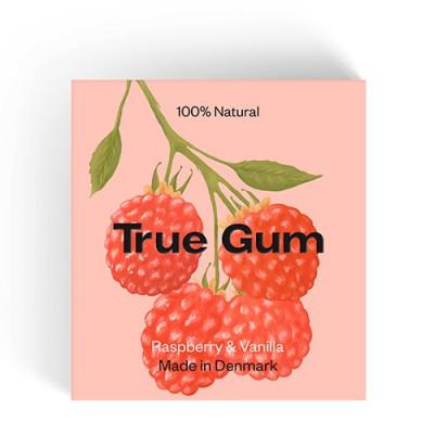 True Gum Tyggegummi Raspberry & Vanilla (1 pk)