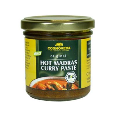 Cosmoveda Hot Madras Curry Paste Ø (160 gr)