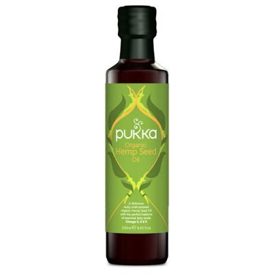 Pukka Hemp seed oil Ø 250 ml.