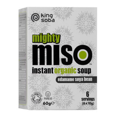 Instant Miso Suppe med Edamame bønner Ø (60 gr)