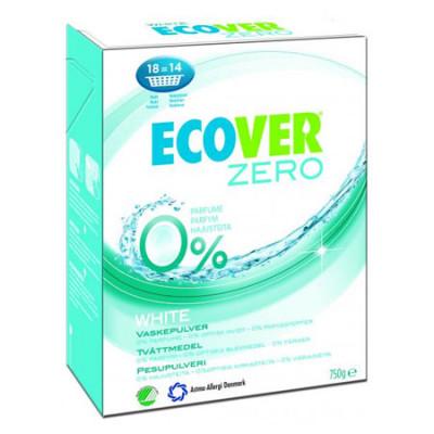 Ecover Vaskepulver Zero White (750 g)