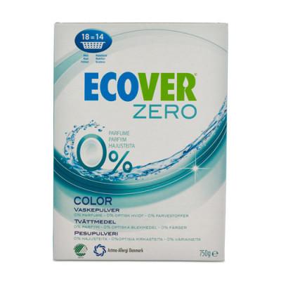Ecover Vaskepulver Zero Colour (750 g)