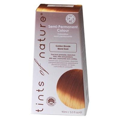 Semipermanent Hårfarve Golden Blond (90 ml)