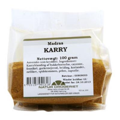 Natur Drogeriet Karry Madras stærk (100 gr)