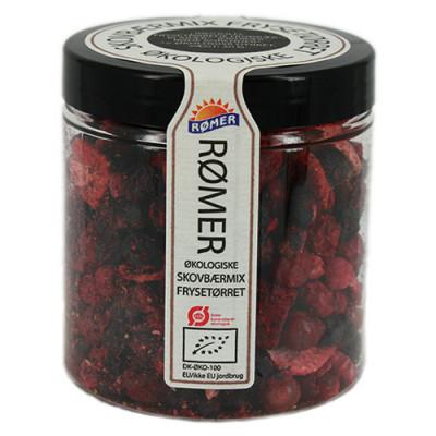 Skovbærmix frysetørret Ø 30 gr