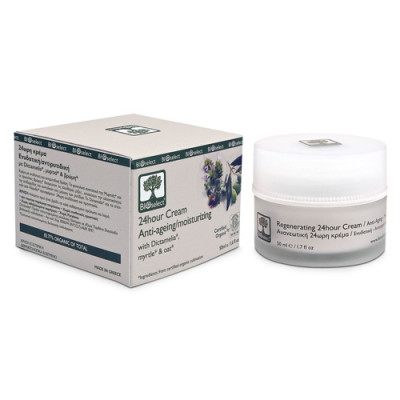 Bioselect Genopbyggende 24-timers Creme (50 ml)