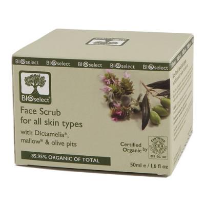 Bioselect Face Scrub (50 ml)