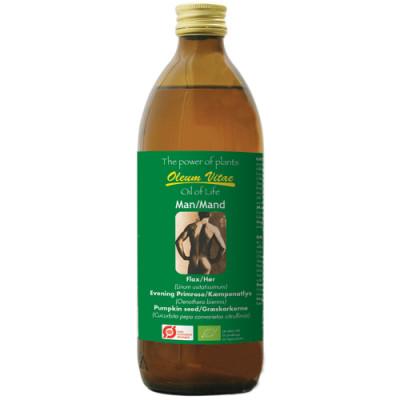 Oil of life Mænd omega 3-6-9 Ø (500 ml)