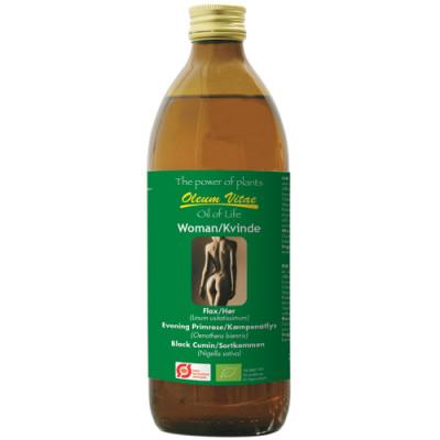 Oil of Life Kvinder Omega 3-6-9 Ø (500 ml)