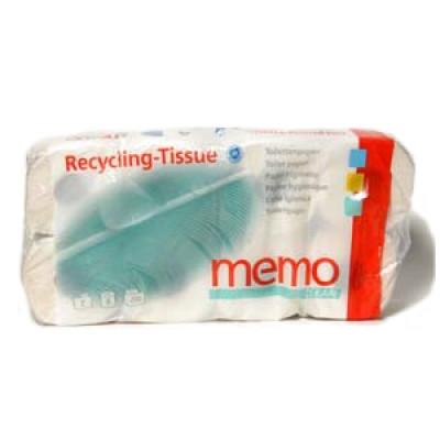 Toiletpapir Memo (8 Ruller) (1 pk)