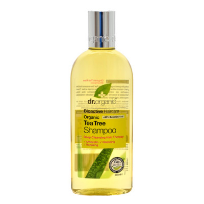 Dr. Organic Tea Tree Shampoo (250 ml)