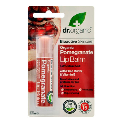 Dr. Organic Pomegranate Lip Balm Ø (5,7 ml)