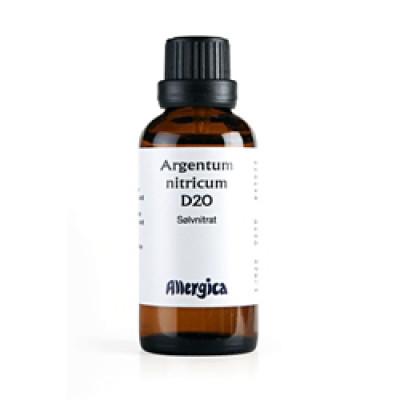 Argentum Nitricum D20, 50 ml