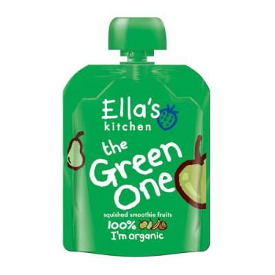 Ellas Kitchen Babymos Æble/Pære/Banan/Kiwi Ø 4 Mdr (90 gr)