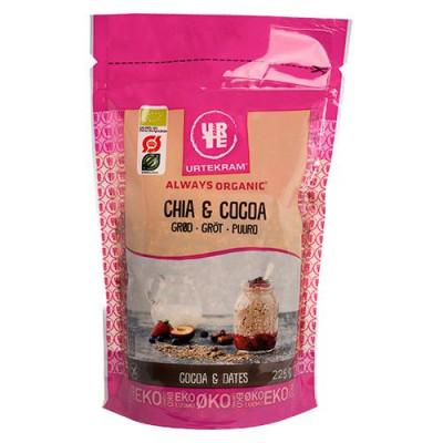 Urtekram Chia & Cocoa grød Ø (225 g)