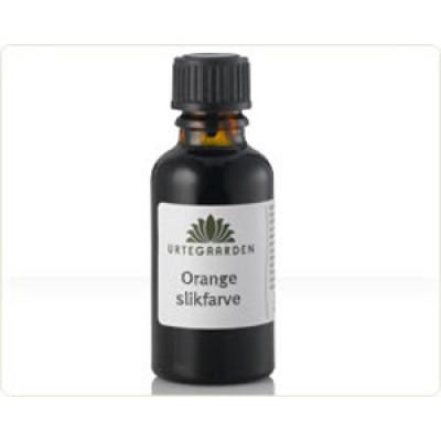 Urtegaarden Orange Slikfarve (10 ml)