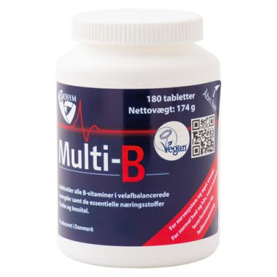 Biosym Multi-B (180 tabletter)