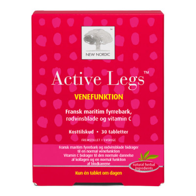 New Nordic Active Legs (30 tabletter)
