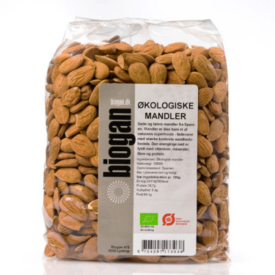 Biogan Mandler Ø (1 kg)