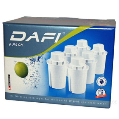 Filterpatroner 6-pack Dafi 1 Stk