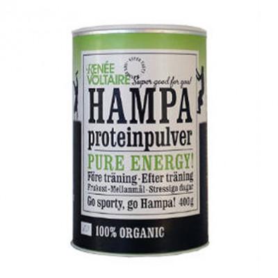 vegansk proteinpulver renée voltaire hamp proteinpulver økologisk