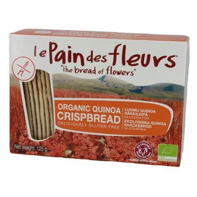 Knækbrød Quinoa Glutenfri Økologisk (125 g)