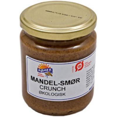 Rømer Mandelsmør Crunchy, Glutenfri Ø (170 gr)