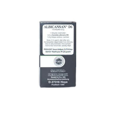 Sanum Albicansan D6 Stikpiller (10 Stk)