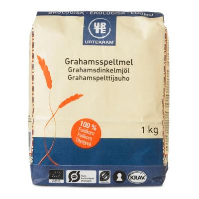 Urtekram Grahams speltmel Ø (1 kg)