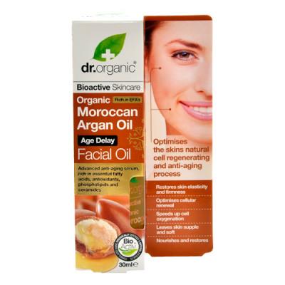 Dr. Organic Facial Serum Argan (30 ml)
