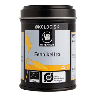 Urtekram Fennikelfrø Ø (25 gr)