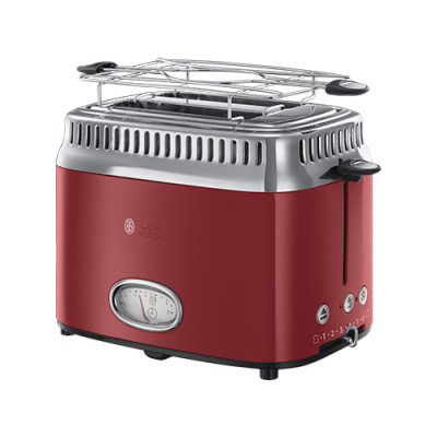 Russell Hobbs Retro Red 2 Slice Toaster
