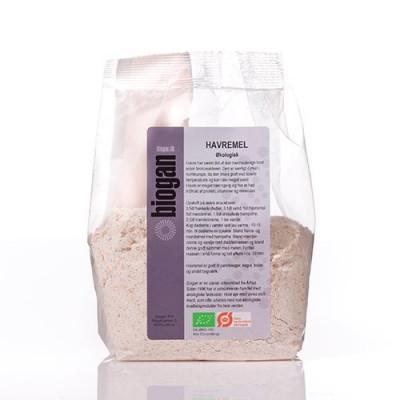 Biogan Havremel Fuldkorn Ø (500 g)