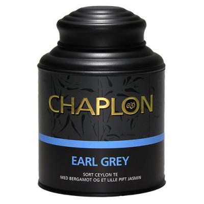 Chaplon Earl Grey sort te dåse Ø (160 g)