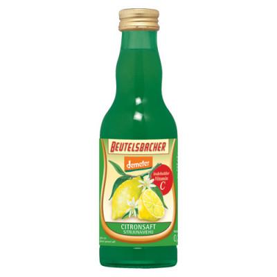 Citronsaft Ø Demeter Beutelsbacher (200 ml)