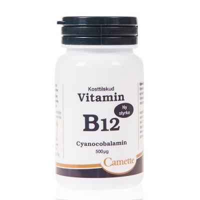 Camette Vitamin B12 cyanocobalamin 500mcg (90 tab)