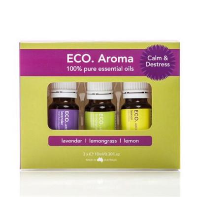 ECO. Aroma Trio Calm & Destress (3x10 ml)