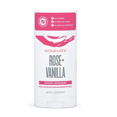 Schmidt´s Deodorant stick Rose+Vanilla (75 g)