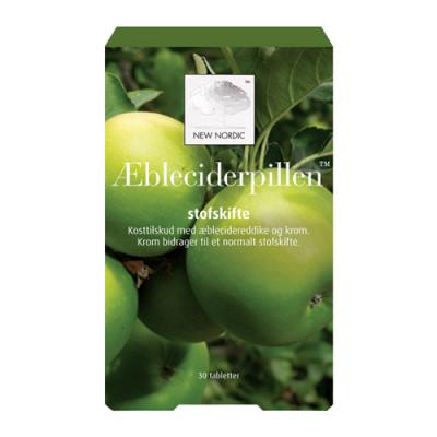 New Nordic Æbleciderpillen (30 tab)