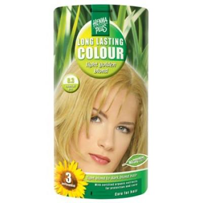 Hennaplus 8.3 hårfarve lightgolden blond.