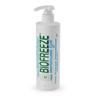 Biofreeze Behandlerflaske M Pumpe (473 ml)