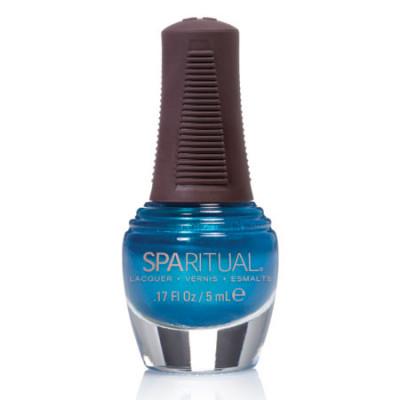 Sparituals Neglelak Mini Turkisblå Perlemor 88382 (5 ml)
