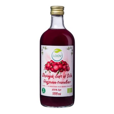 tranebær juice køb