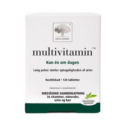 New Nordic Multivitamin (120 tab)