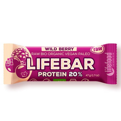 LifeFood LifeBar WildBerry Proteinbar Ø (47 g)