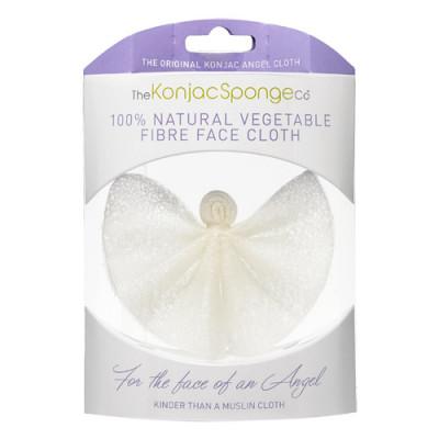 The Konjac Sponge Engleformet Vaskeklud (Ansigt)