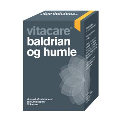 VitaCare Baldrian og Humle (60 tabletter)