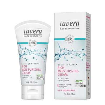 Lavera Basis Sensitive Moisturising Creme (50 ml)
