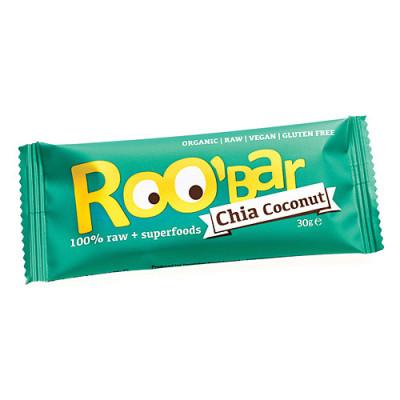 Roo'Bar Chia Coconut Ø (30 gr)