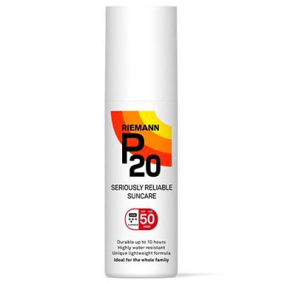 P20 Solbeskyttelse SPF 50 Spray (100 ml)